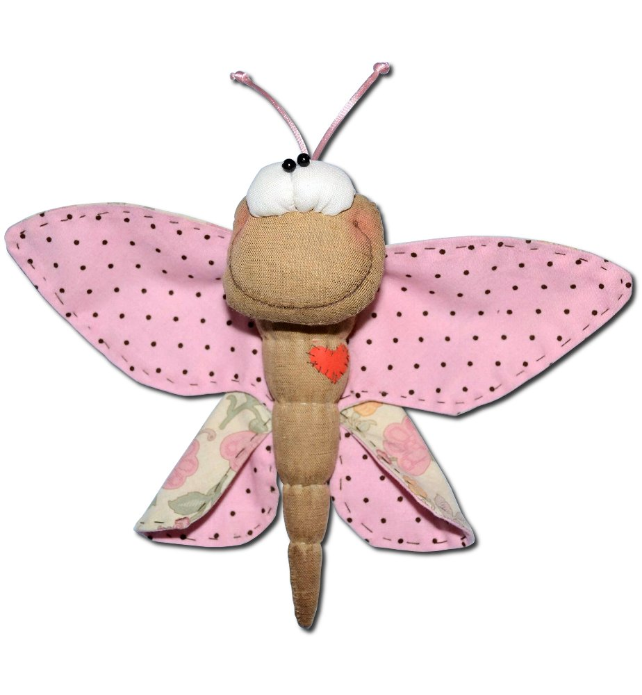 Бабочки для штор из фетра своими руками